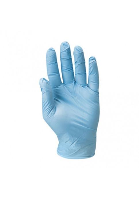 Нитрилни ръкавици с талк