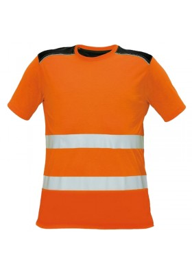 Тениска KNOXFIELD HV T-SHIRT ORANGE