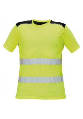 Тениска KNOXFIELD HV T-SHIRT YELLOW